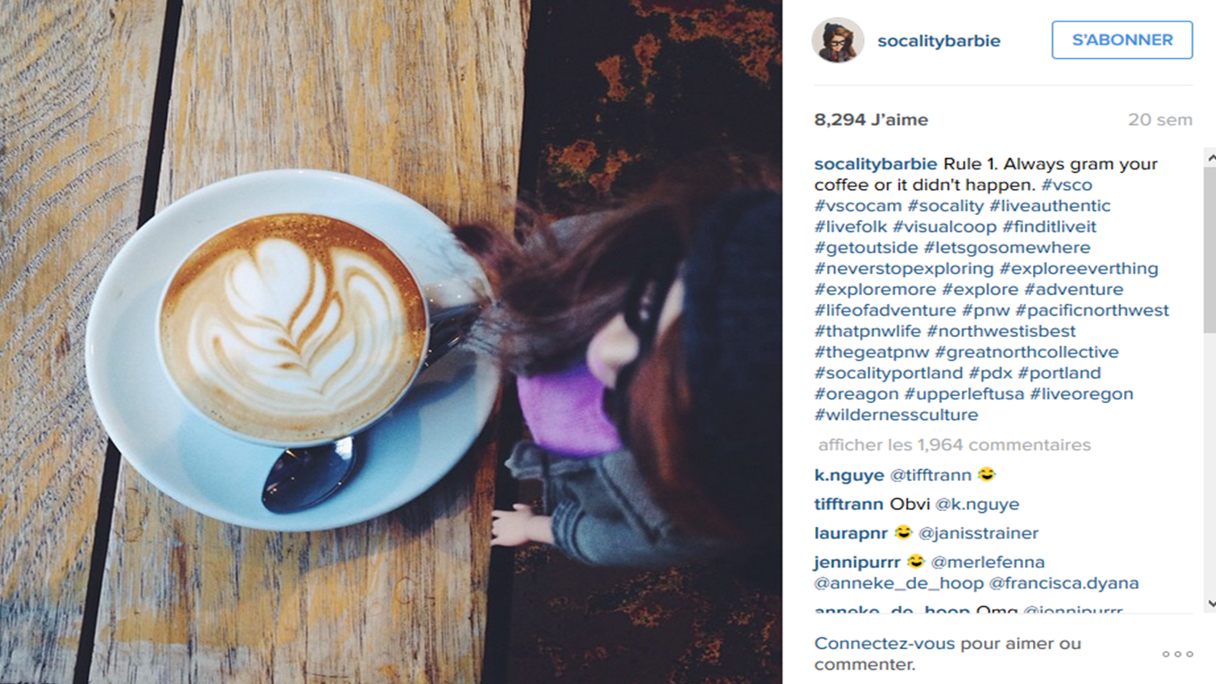 Socality Barbie instagram