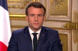 Discours officiel Emmanuel Macron sur Twitter