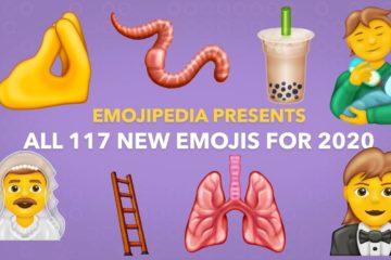 Emojis disponibles en 2020