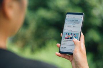 Facebook app prévention santé