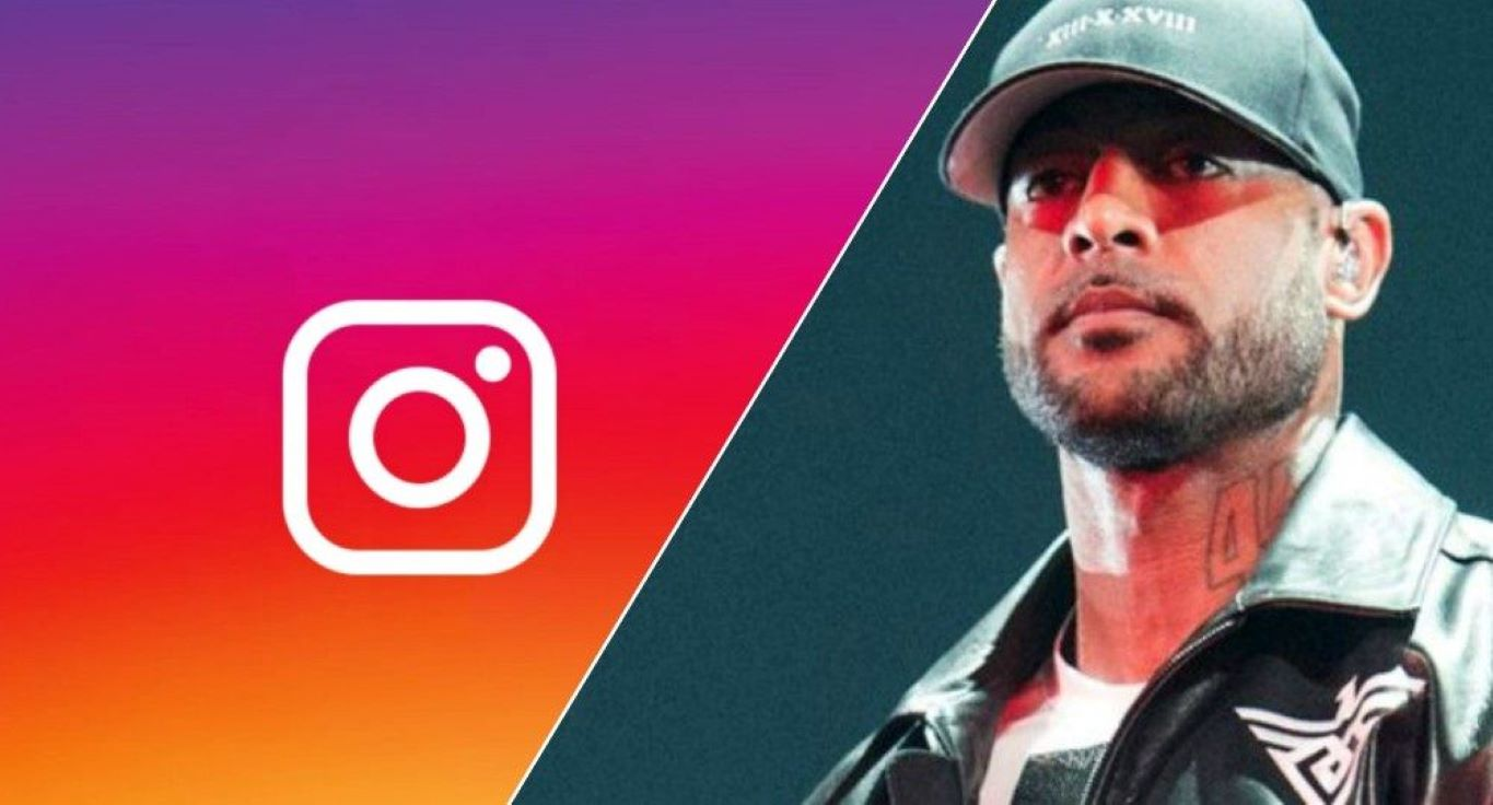 Booba suppression compte Instagram