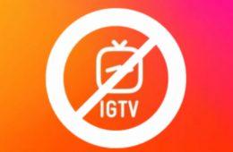 Fin Instagram IGTV