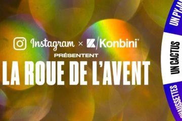 Instagram et Konbini la roue de l avent