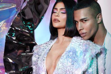 Kylie Jenner collabore avec Balmain