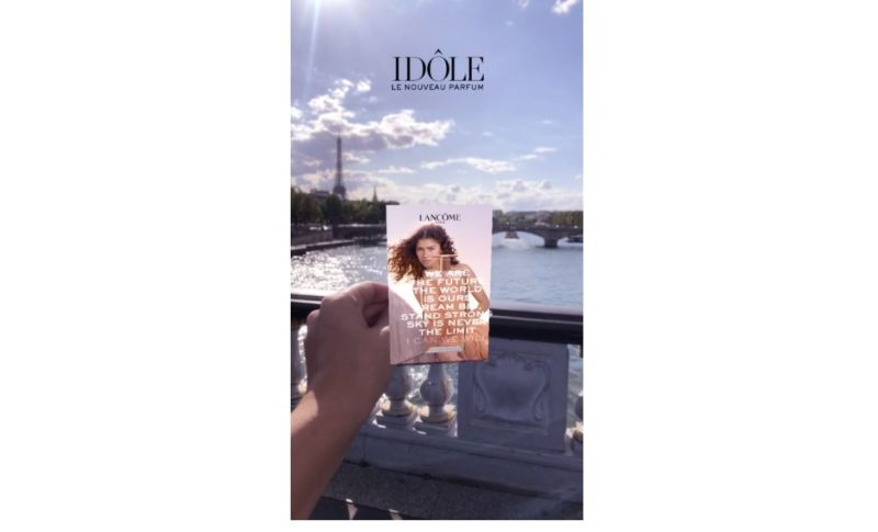 Lancôme s'accocie à Snapchat avec Marker Tech