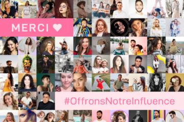 #OffronsNotreInfluence