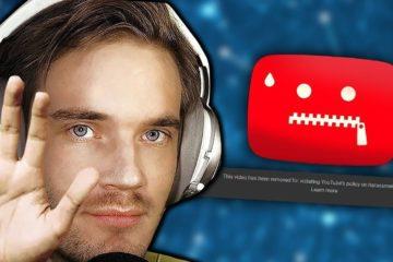 PewDiePie pause