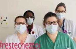 #ResteChezToi pour sensibiliser au coronavirus