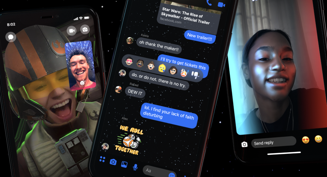 Star Wars sur Messenger