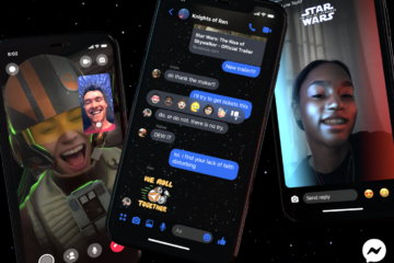 Star Wars sur Messenger