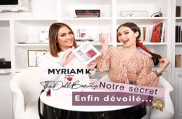 Collaboration entre Myriam K et The Doll Beauty