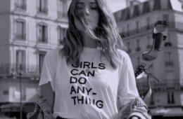 Zadig et Voltaire campagne #GirlsCan
