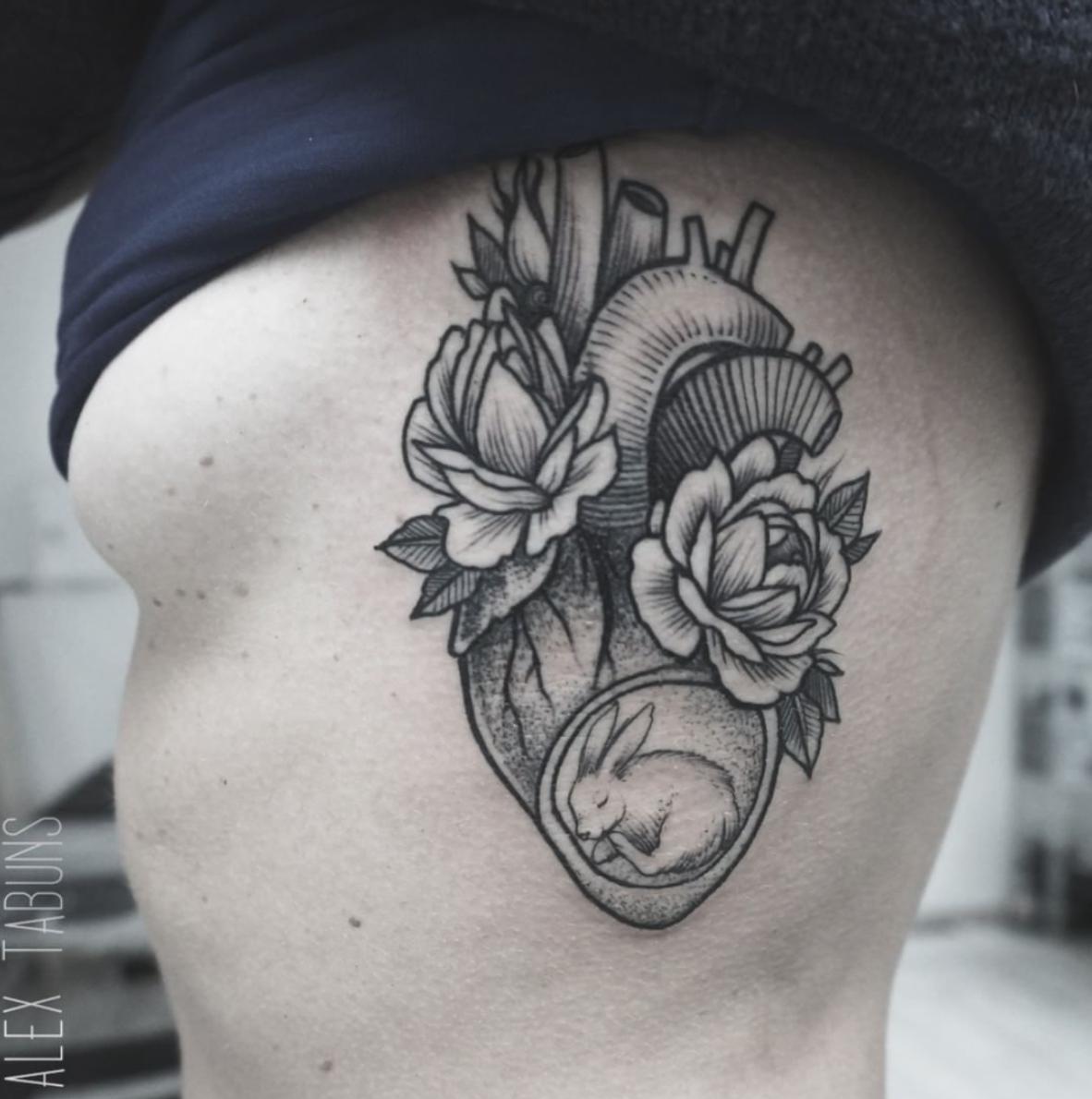 alice et alex tatouage points