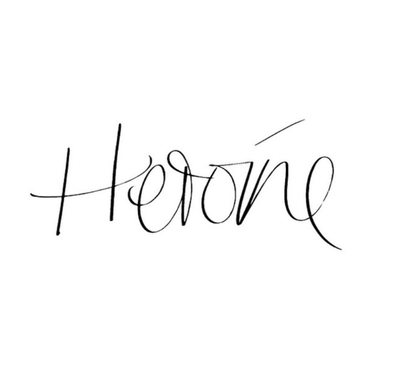 TheWriting, les typographies à la main