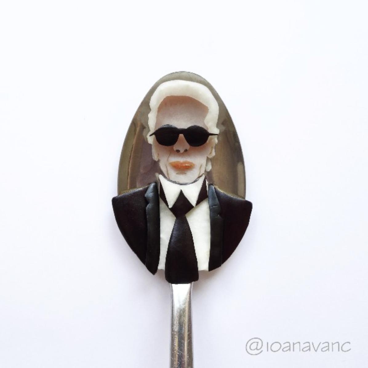 Ioanavanc, le food art dans une cuillère