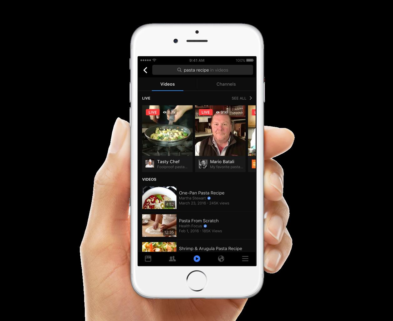 recherche-vidéos-facebook-influenth