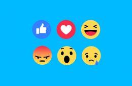 reaction facebook influenth
