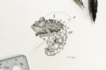 KerbyRosanes, les compositions massives de dessins détaillés