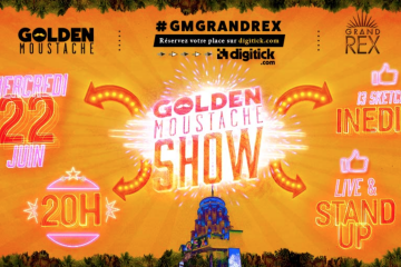 golden moustache show grand rex youtube influenth