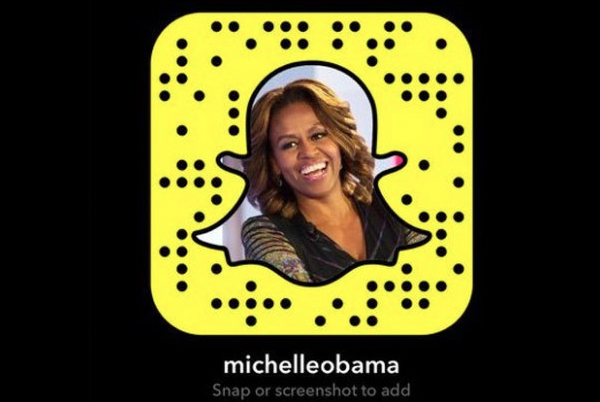 Michelle Obama Snapchat