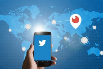 Twitter bouton Periscope Influenth