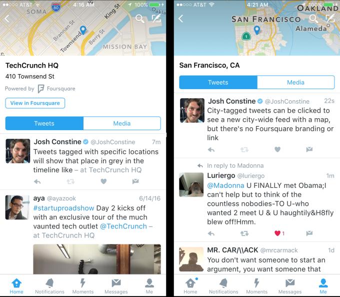 Géolocalisation Twitter Influenth