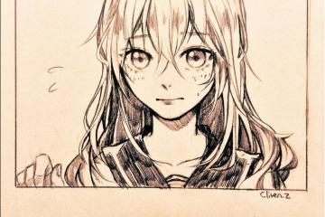 Cliven.z, les dessins comme dans les mangas