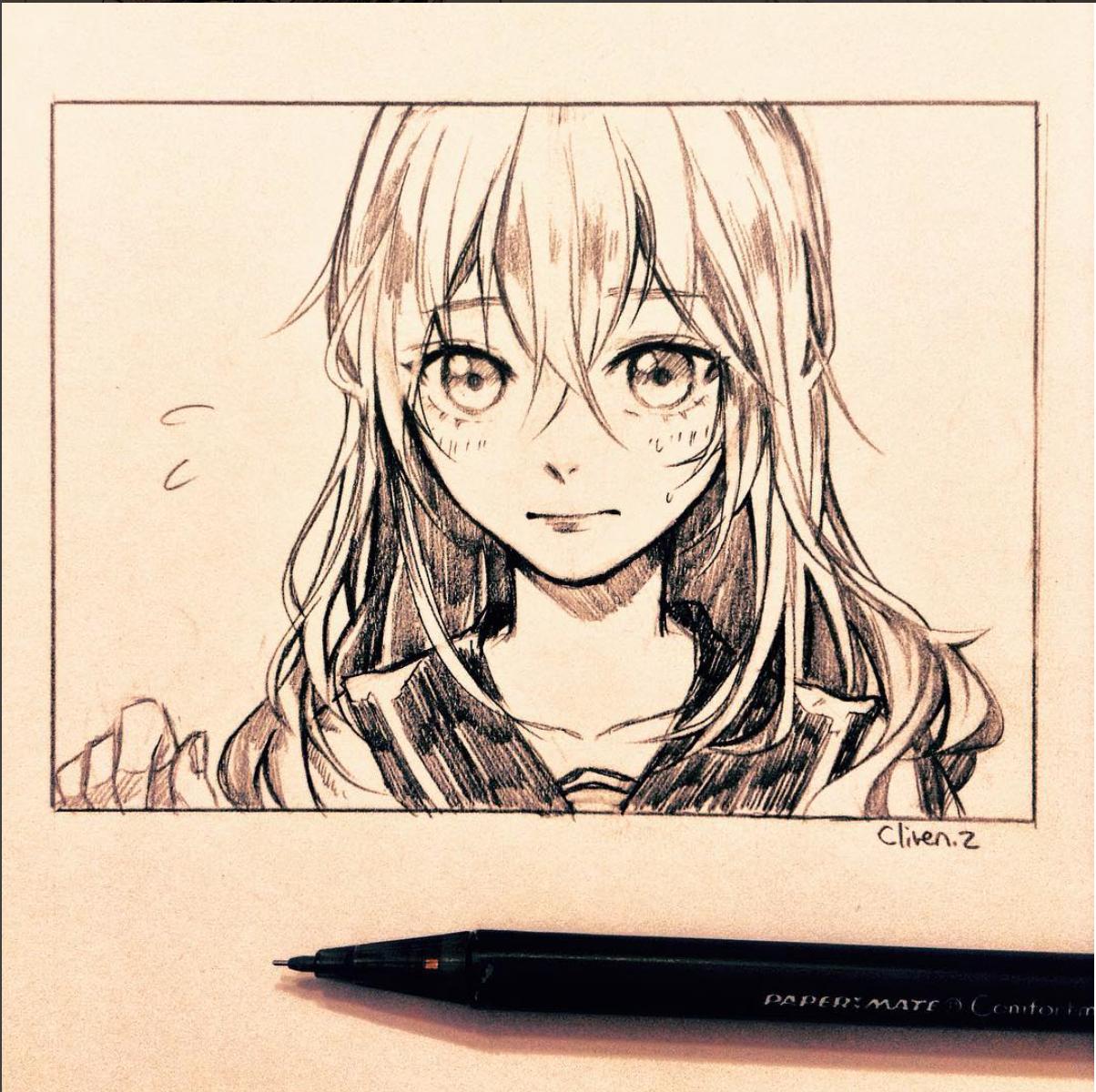 Instagram cliven z les dessins comme dans les - Dessin manga image ...