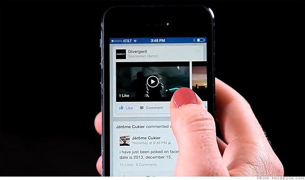 L'app de Facebook risque de devenir plus bruyante