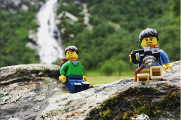 LegoTravellers, voyager avec des legos