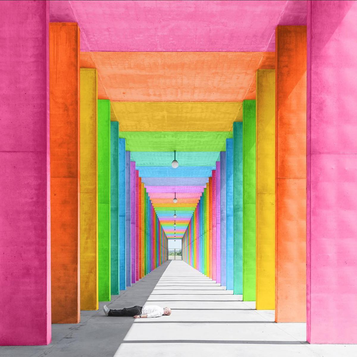 Space.Ram, l'explosion de couleurs à New-York