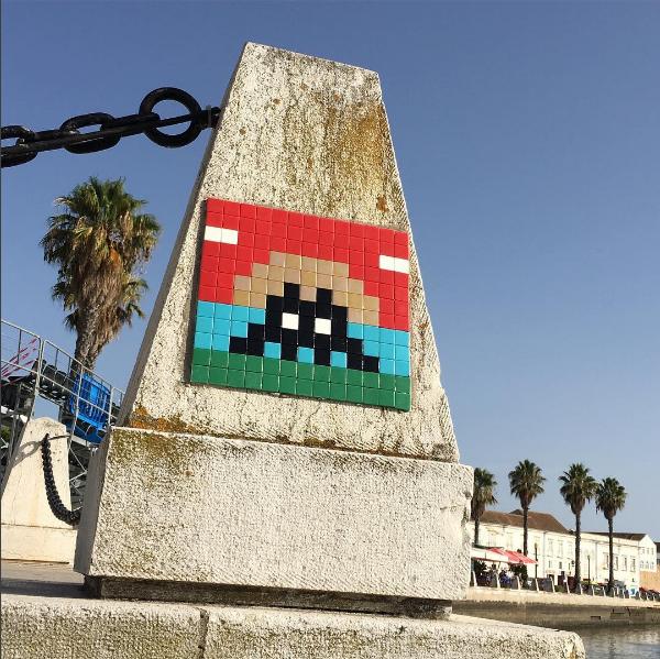 InvaderWasHere, Space Invaders envahit les villes