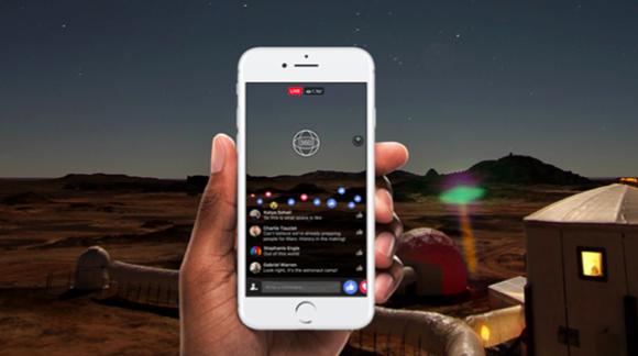 La vidéo live à 360° débarque sur Facebook