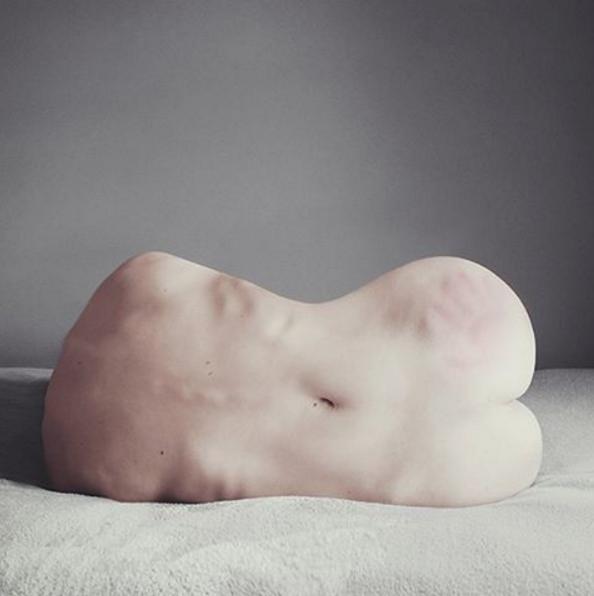 AngelaBuron, l'anatomie humaine recréée