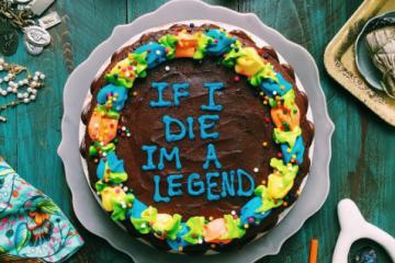 DrakeOnCake, les paroles du chanteur sur des gâteaux