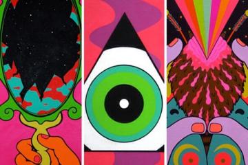 SpencerHibert, l'artiste au style psychédélique