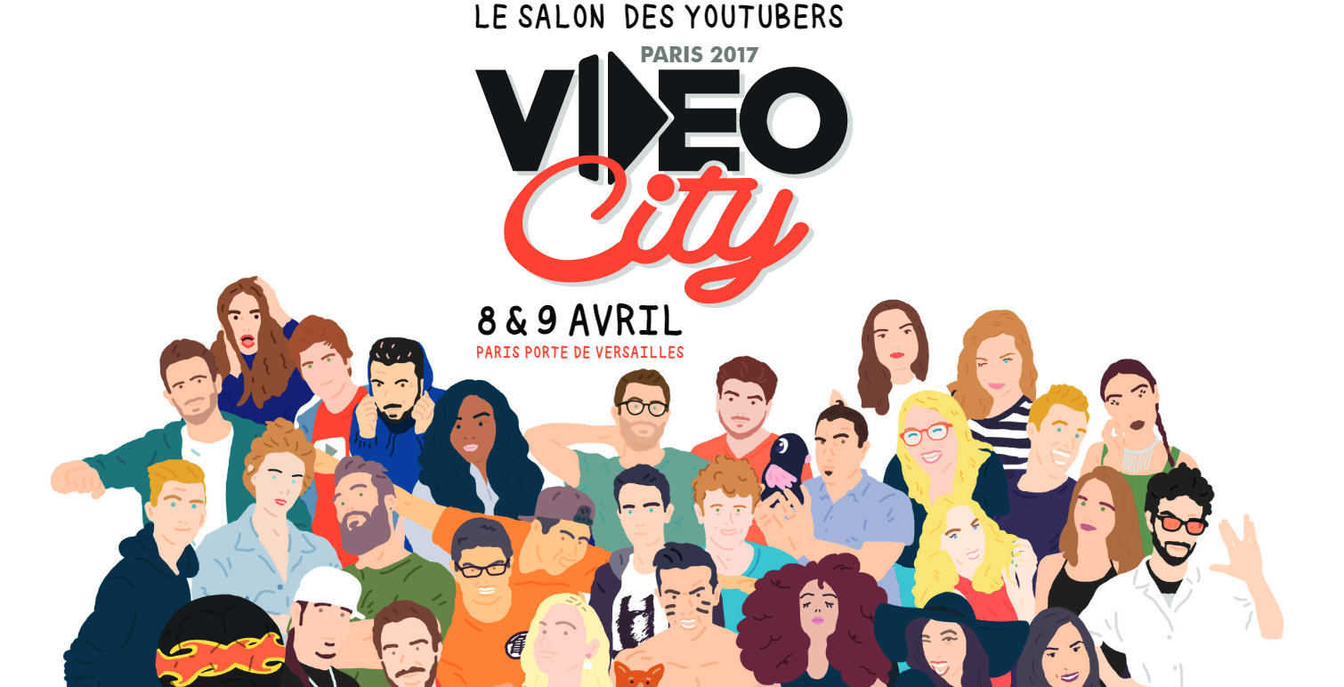Vid o city paris 2017 plus qu un salon le nouveau media for Salon youtubeuse