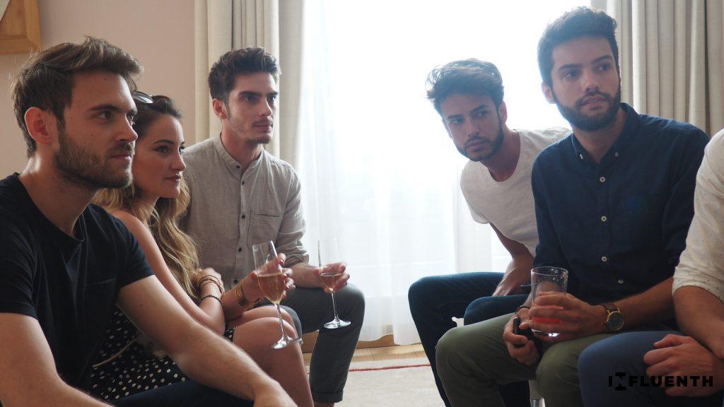 Mylène (@tiboudnez), Bastien (@tbr_75), Jérôme (@__jeromec__) et Loïc (@loic_crds_vr)
