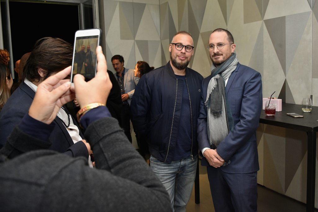 Sébastien Abdelhamid et Darren Aronofsky