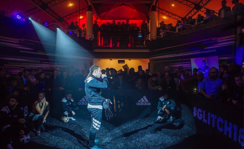 Adidas Football lance la révolution GLITCH à Paris ! Influenth