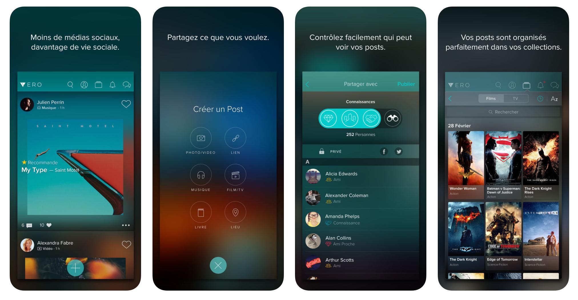 Vero : Le nouveau réseau social qui veut détrôner Facebook et Instagram