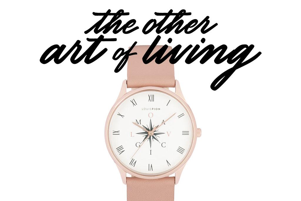 ce456c7f2f The Other Art of Living et Louis Pion créent une montre qui vous aide à  prendre la bonne direction