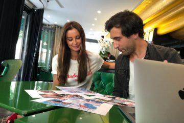 Nicolas Kern, Coach Instagram Malika Ménard