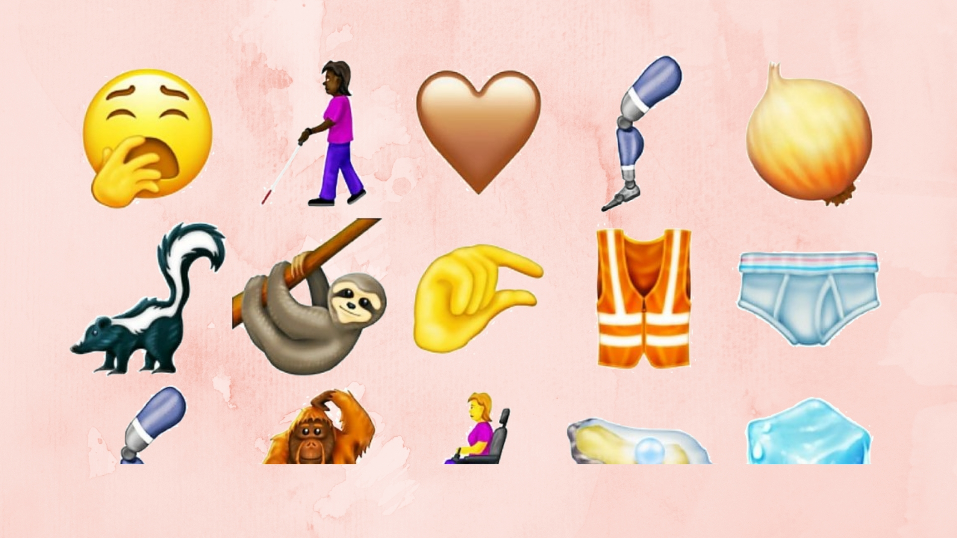 Découvrez ces nouveaux emojis qui font déjà parler d'eux sur Twitter