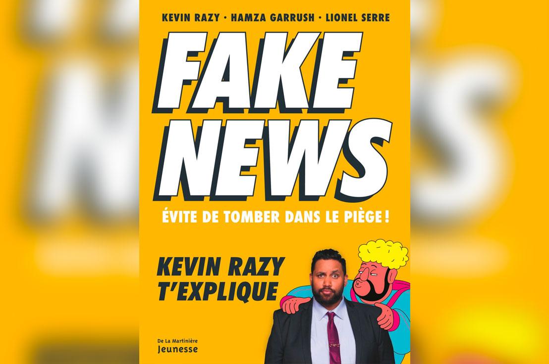 L Humoriste Kevin Razy Sort Son Livre Intitule Fake News