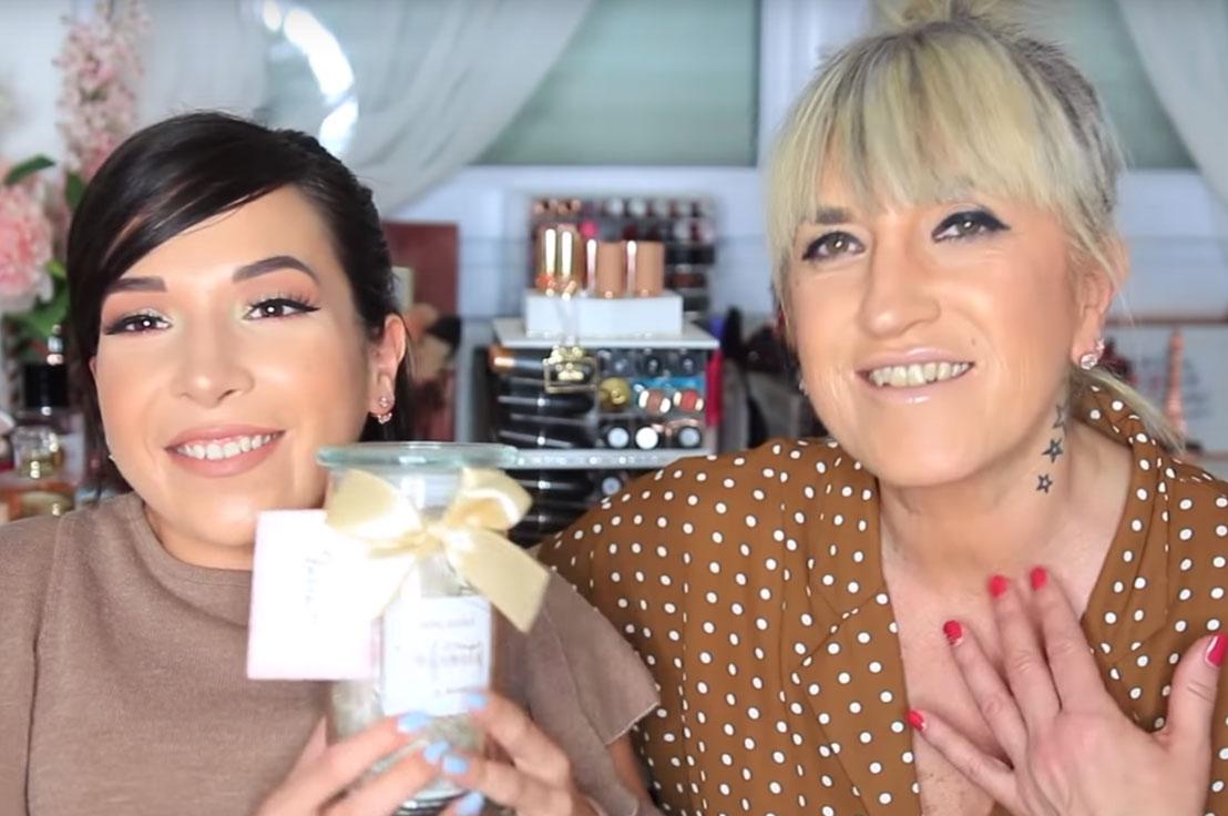 Elsa MakeUp et sa mère créent une bougie avec JewelCandle