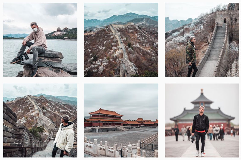 Le feed Instagram d'Anil B.