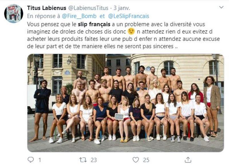 Scandale Slip français