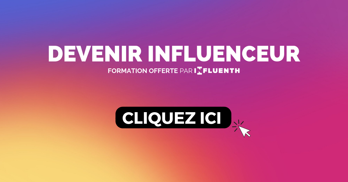 Formation Instagram Influenceur