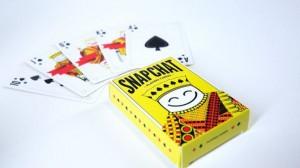 jeu de carte snapchat